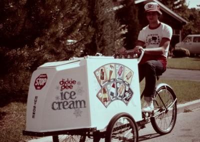 dicky D ice cream cart