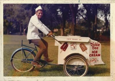 Dickie Dee ice cream bike